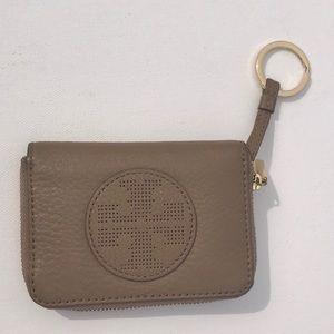Tory Burch Kipp Coin or Card Holder Zip Case